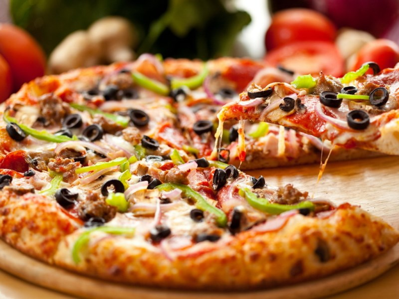 Пицца в домашних условия пицца просто
